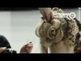 как сделать розу из волос. прическа Г.Кот